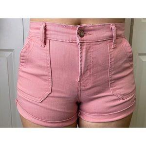 🦋Mid-Rise Boyfriend Pink Shorts🦋